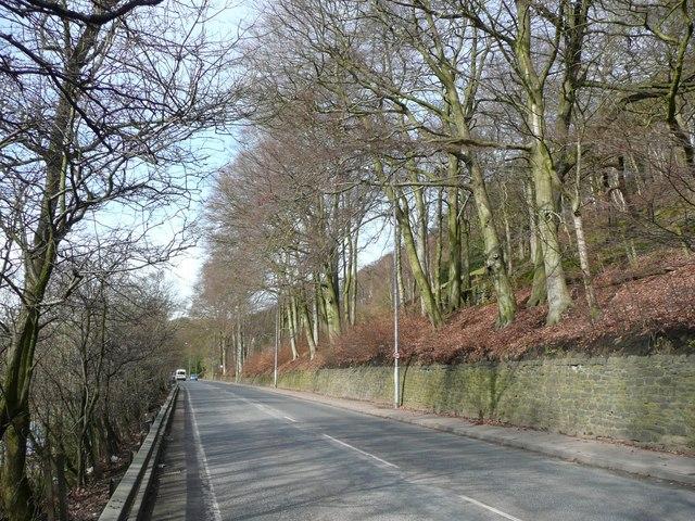 Burnley Road (A646), Hebden Bridge