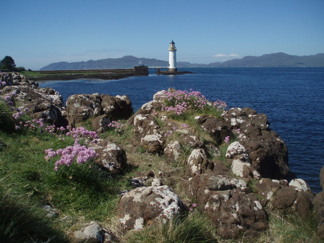 Rubha nan Gall from look out point on coastal path