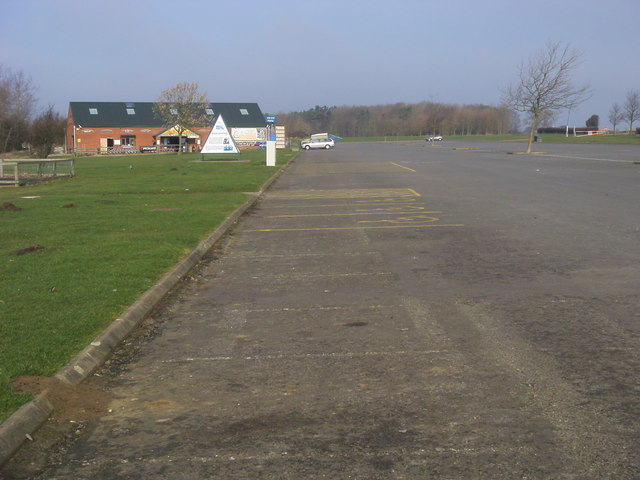 Grafham Water car park