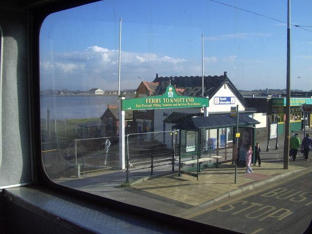 Fleetwood tram terminus.