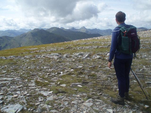 SW slopes of SE ridge of A' Chralaig