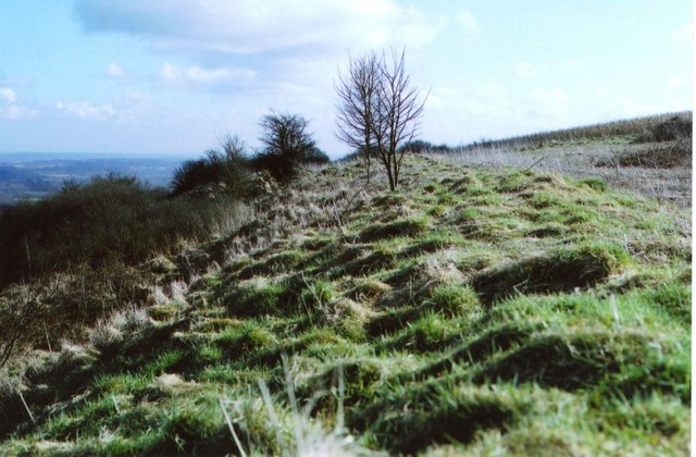 Walbury Hill – Iron-Age hillfort