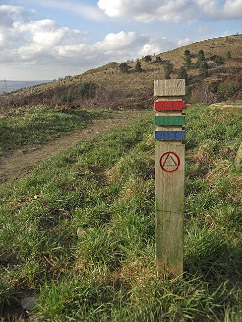 Waymarker, Crompton Moor