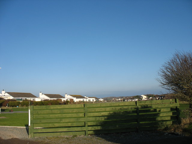 Bungalows on the Fron Estate, Cemaes
