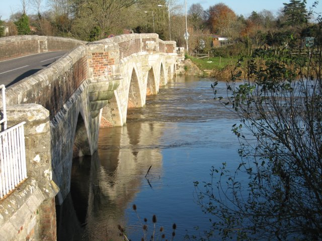 Julian's Bridge,  Wimborne Minster