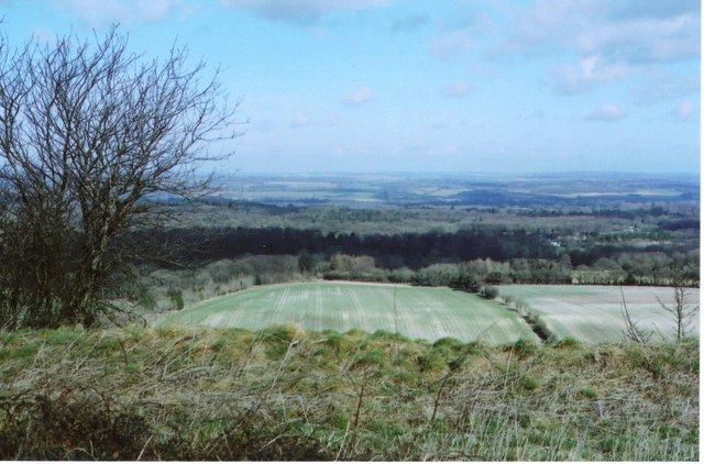 Walbury Iron-age Hillfort –  A defender's view