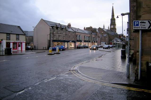 View of East High Street, Forfar