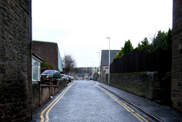 View of New Road, Forfar