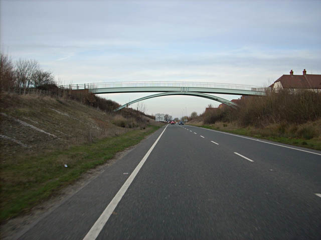 New Bridge Road crosses the A29