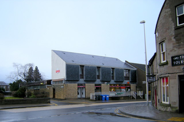 View of Forfar Post Office