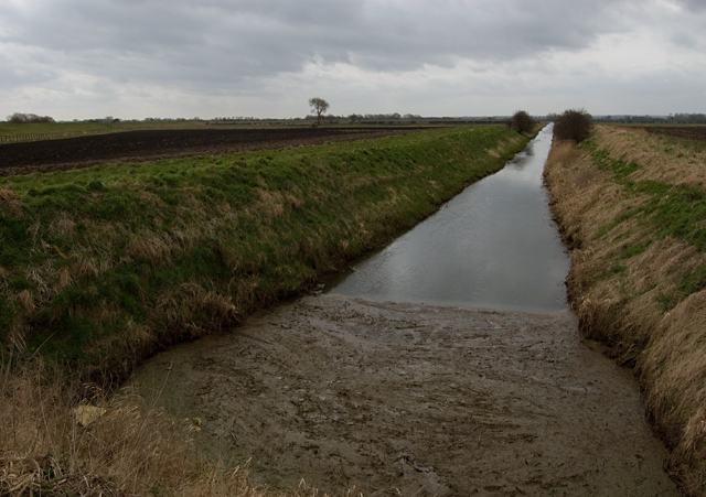 Beverley and Barmston Drain at Aike