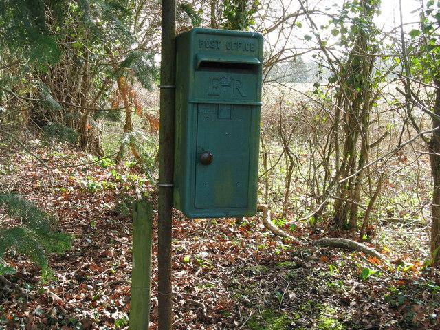 Green Post Box
