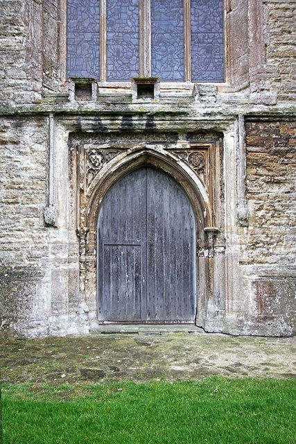 All Saints, Biddenden, Kent - West door