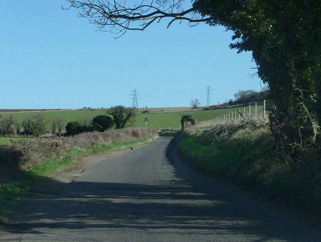 Lane north east of Beggars Bush