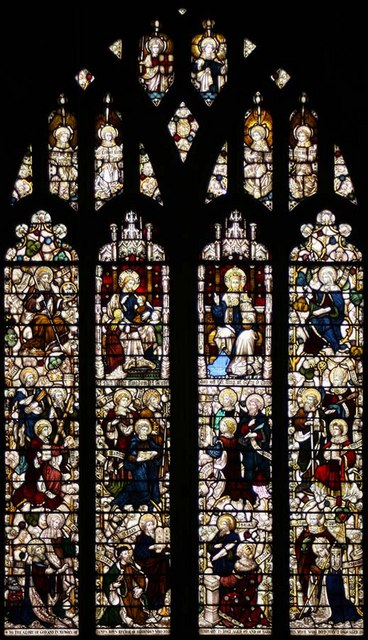 All Saints, Biddenden, Kent - West window