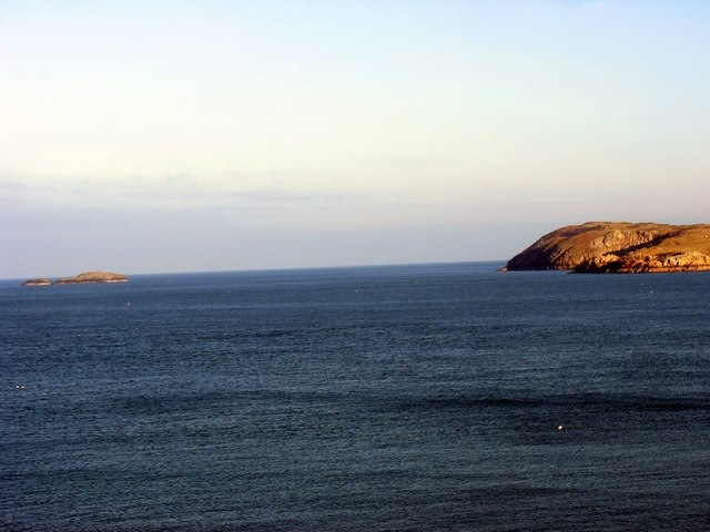 The sound between Ynys Badrig (Middle Mouse) and Llanlleiana Head