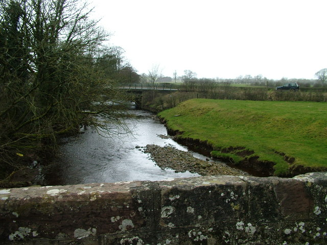 The A685 crossing the River Belah