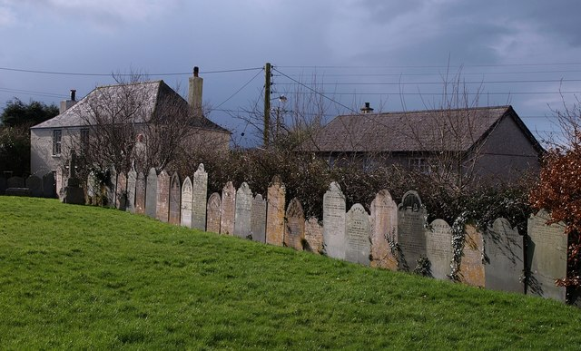 Gravestones, St Stephen's Church, Saltash