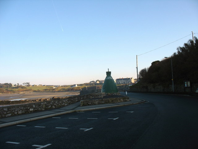 The old Harry Furlough's buoy in Beach Road