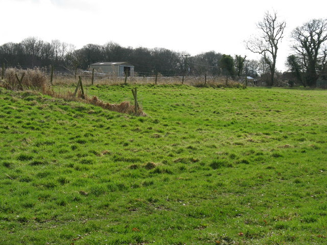 View south to old nursery on Marringdean road