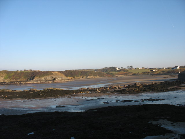 Traeth Mawr, Cemaes, at low water
