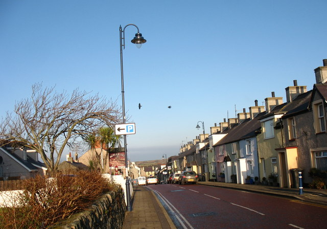 The High Street, Cemaes