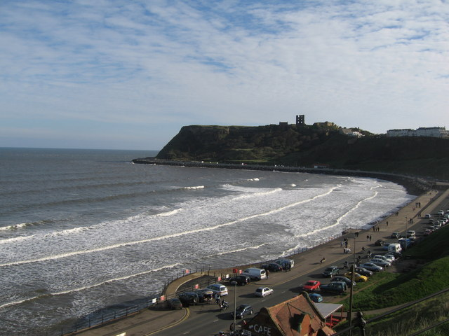 Scarborough Castle and North Bay