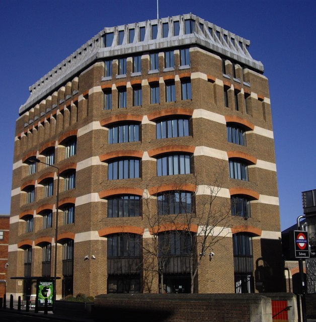 Office Block above Pimlico Station