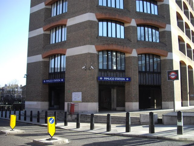 Main Entrance Pimlico Station
