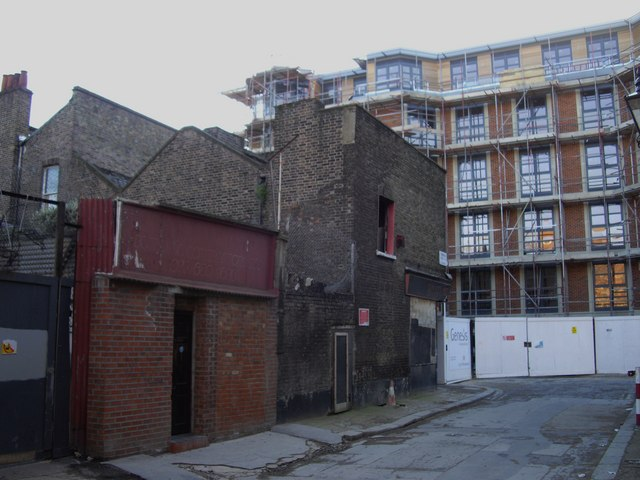 Disused shops in Thorndike Street
