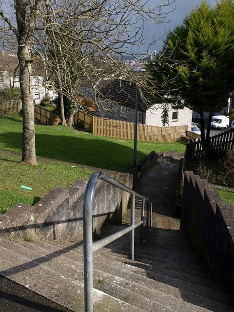 Steps from Spencer Gardens, Saltash