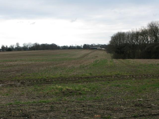 View across the fields towards Doghouse Farm