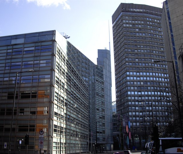 Office Blocks in Bressenden Place