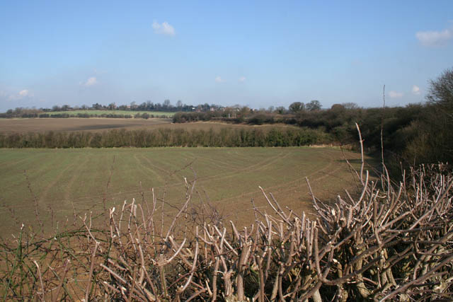 Farmland alongside the Nottingham Canal