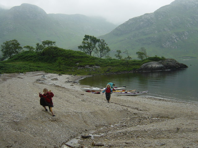 Lunch stop on Loch Shiel