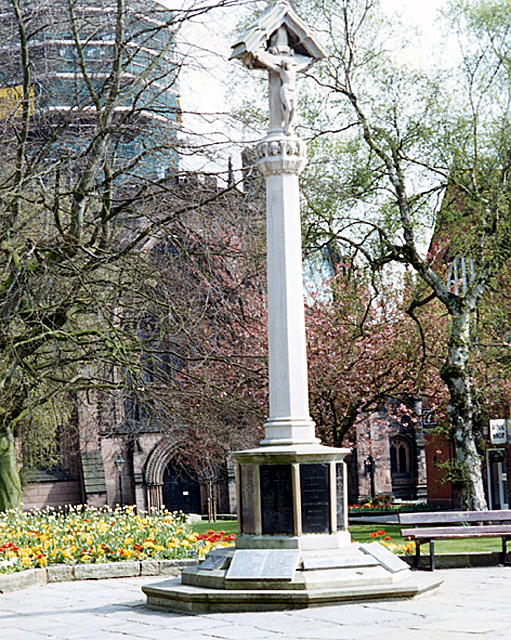 War Memorial, Nantwich, Cheshire