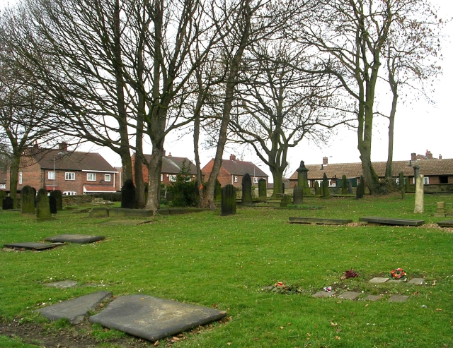 All Saints Graveyard - Ackton Lane