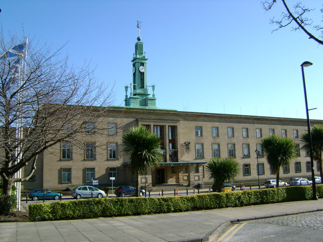 Looking across to Kirkcaldy Town House, Kirkcaldy