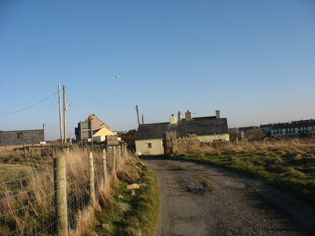 Cottages on the NW outskirts of Cemaes