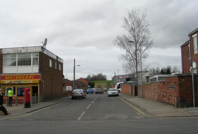 Allison Street - Station Lane