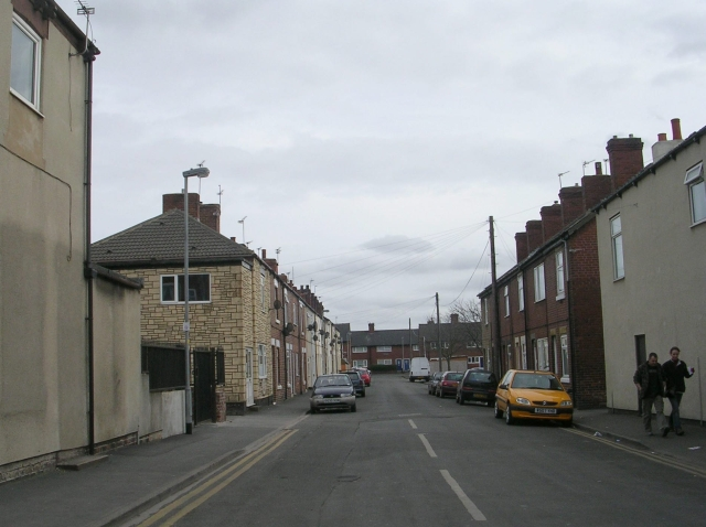 Crossley Street - Station Lane