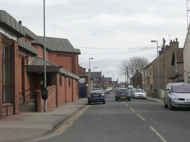 Victoria Street - Station Lane