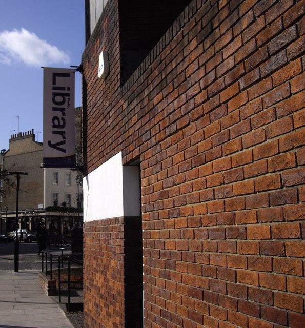 Sign 'Pimlico Library'