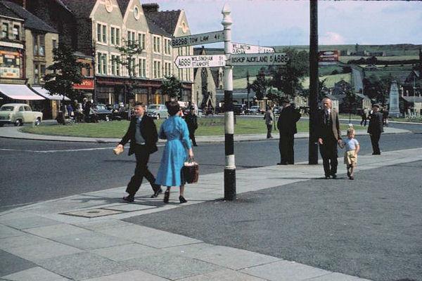 Crook village 1958
