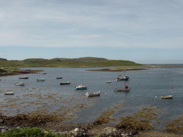 Boats in Old Dorney Bay