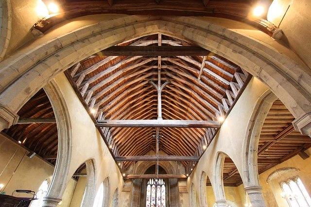 All Saints, Biddenden, Kent - Roof