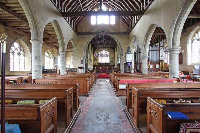 All Saints, Biddenden, Kent - East end