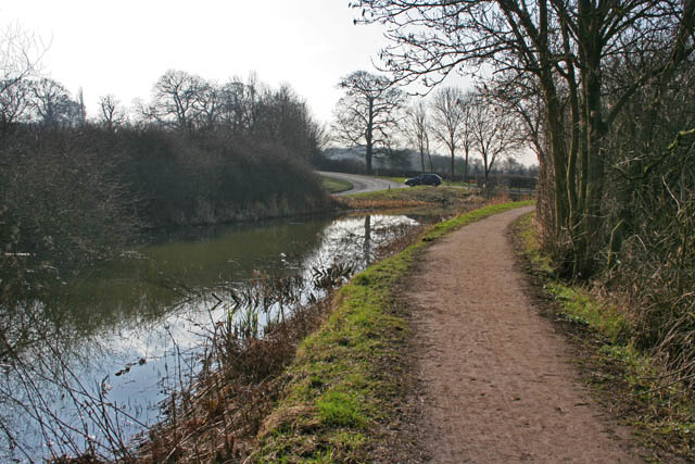 Cossall Road and the Nottingham Canal