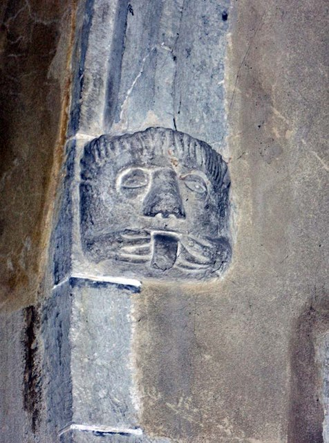 All Saints, Biddenden, Kent - Label head