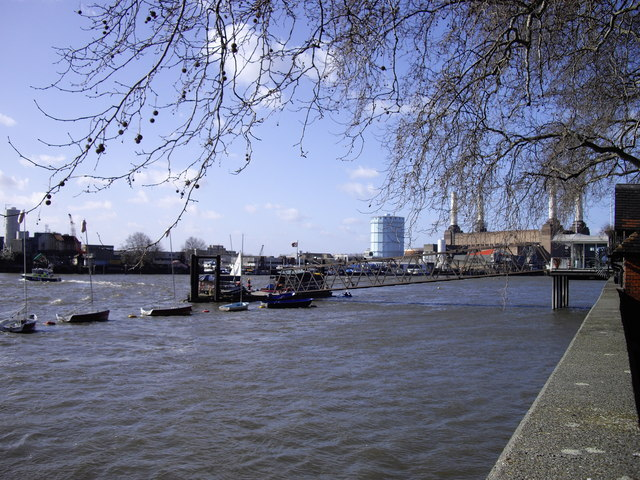 Yachts on the River Thames